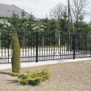 Aluminium fence Lamo