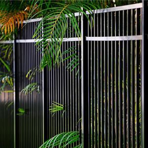 Aluminium fencing Lamo