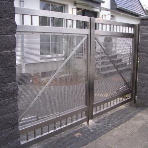 Aluminium gate Lamo