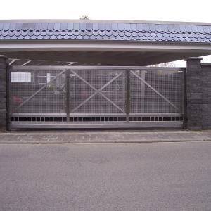 Aluminium gates Lamo