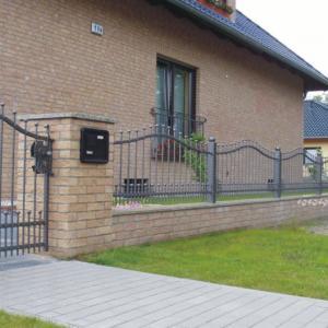 Aluminium gates and fences Lamo