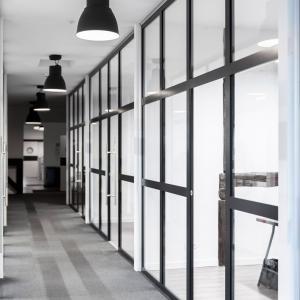 Aluminium partition Lamo
