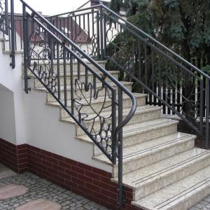 Forged stair balustrade Lamo