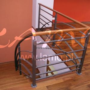 Indoor steel balustrades Lamo