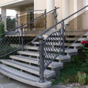 Metal stair railing Lamo