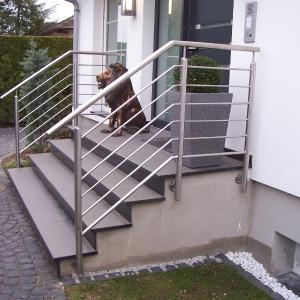 Outdoor railing stainless steel Lamo