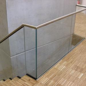 Stainless stair railing Lamo