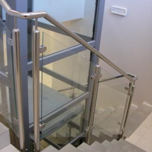 Stainless steel stair balustrade Lamo