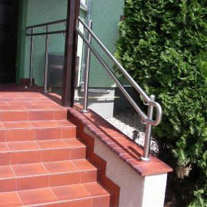 Stainless steel stair railing Lamo