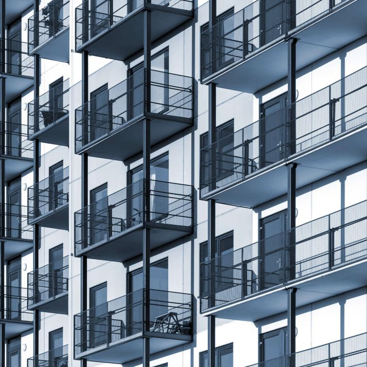 Steel balconies Lamo