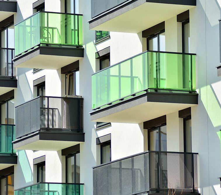 Steel balcony construction Lamo