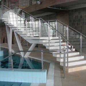 Steel indoor balustrade Lamo