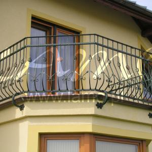 Balustrada balkonowa metal Lamo