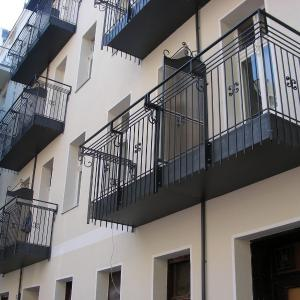 Balustrada balkonowa z metalu Lamo