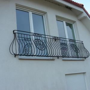 Balustrada balkonowa ze stali Lamo