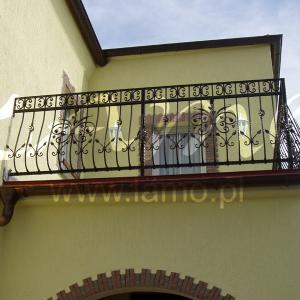 Balustrada na balkonie Lamo