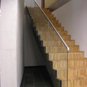 Balustrada na schody nierdzewna Lamo