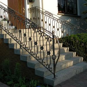 Balustrada na schody stalowa Lamo