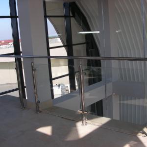 Balustrada wewnątrz Lamo