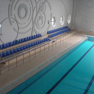 Balustrada wewnętrzna basen Lamo