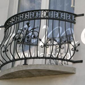 Balustrada zewnętrzna kuta Lamo