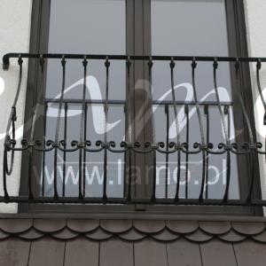 Balustrada zewnętrzna stalowa Lamo