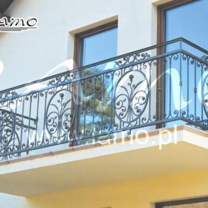 Balustrady balkonowe stalowe Lamo