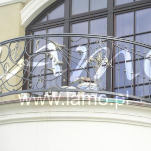 Balustrady balkonowe vintage Lamo