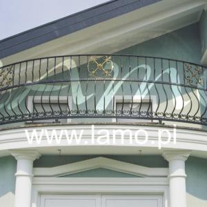 Barierki na balkon Lamo