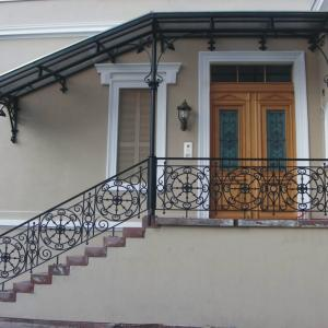 Daszek nad drzwiami stalowy Lamo
