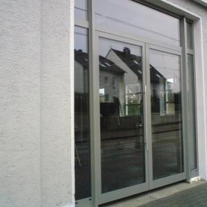 Konstrukcja drzwi aluminiowych Lamo