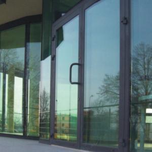 Konstrukcja drzwi aluminium Lamo
