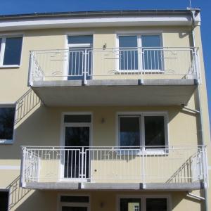 Metalowe balustrady balkonowe Lamo