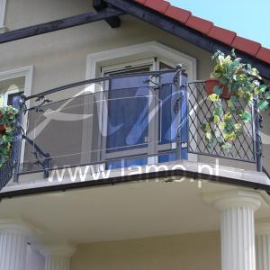 Nowoczesne balustrady balkonowe Lamo