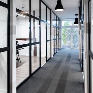Ścianki działowe z aluminium Lamo