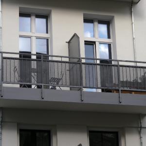 Stalowe balustrady balkonowe Lamo