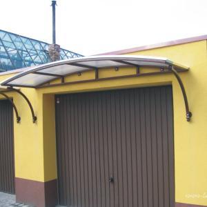 Zadaszenia drzwiowe aluminium Lamo