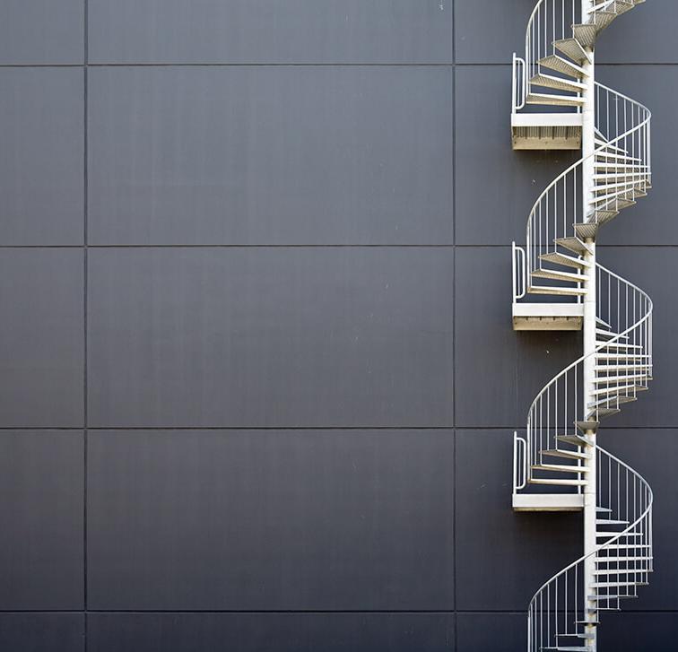 Spiral staircase Lamo
