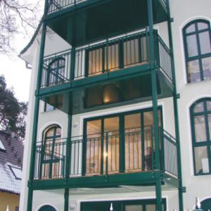 Steel balcony Lamo 11
