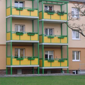 Steel balcony Lamo 12