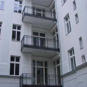 Steel balcony Lamo 14