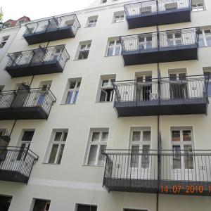 Steel balcony Lamo 15