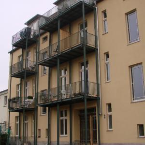 Steel balcony Lamo 16
