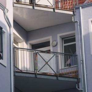 Steel balcony Lamo 17