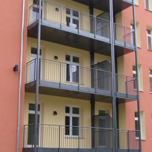 Steel balcony Lamo 2