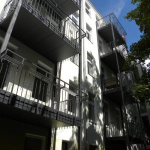 Steel balcony Lamo 3