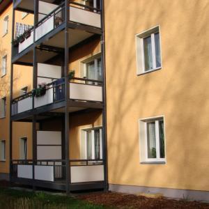 Steel balcony Lamo 4