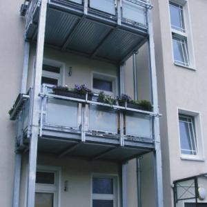 Steel balcony Lamo 5