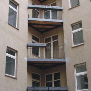 Steel balcony Lamo 6