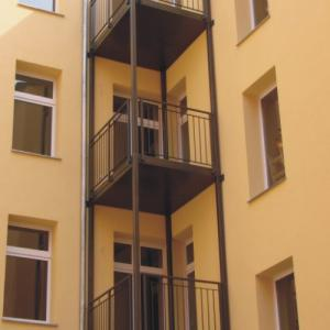 Steel balcony Lamo 7